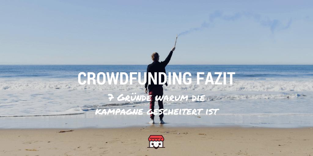Crowdfunding Fazit