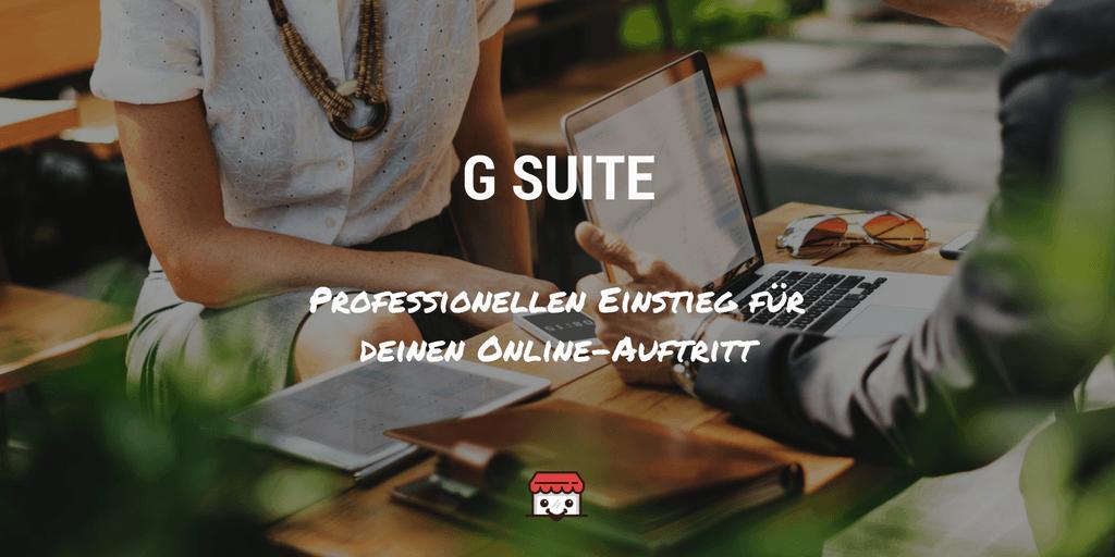 G Suite Beitrag