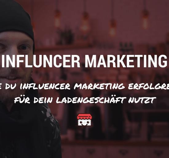 Influencer Marketing Artikelbild mit Text
