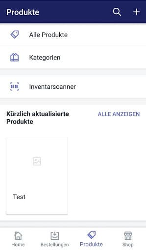 Produkte digitalisieren Shopify