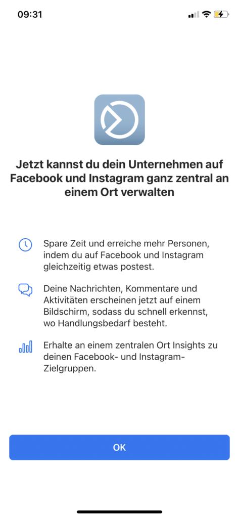 Facebook-Business-Suite-Freischaltung