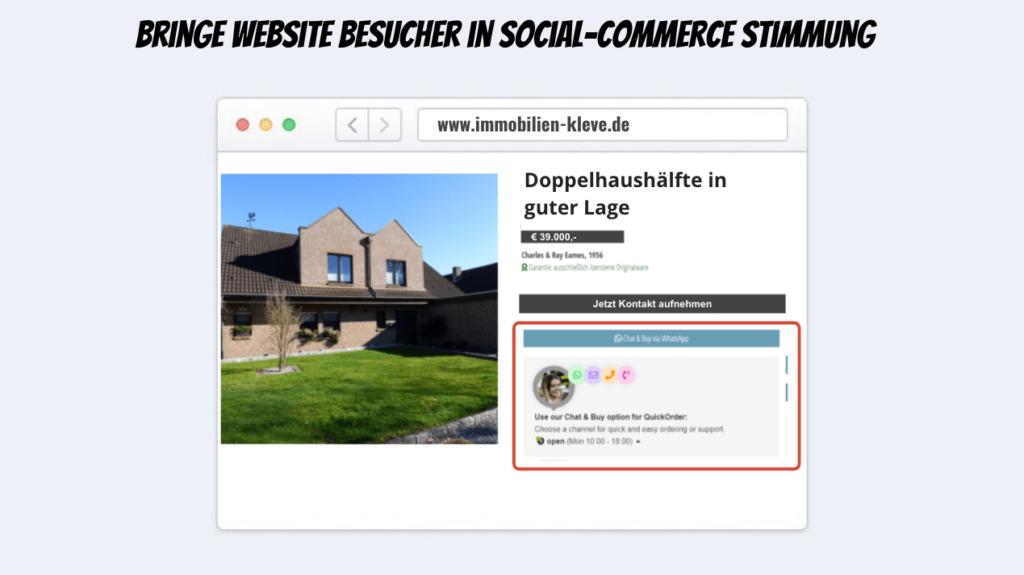 Social-Commerce-Website
